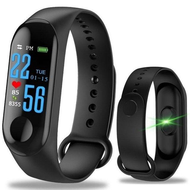 Relógio Smartwatch Inteligente Monitor Cardíaco