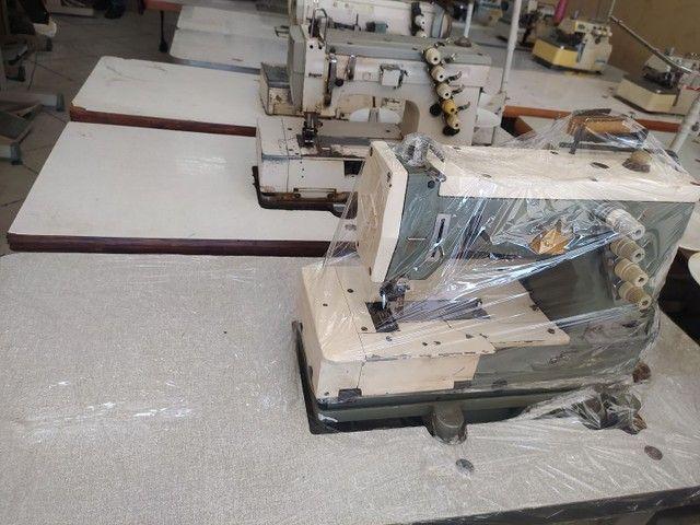 Máquina de costura Galoneira no precinho confira