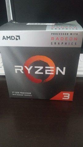 Processador Amd Ryzen 3 3200g Am4 3.6ghz (4.0ghz Turbo)