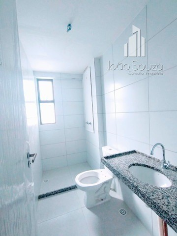 BR- Lindo apartamento na beira mar de Casa Caiada com 95m² - Estação Marcos Freire - Foto 5