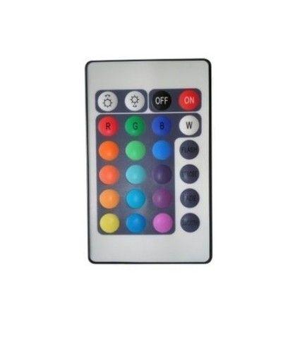 Controle para Fita de Led RGB colorida 5050 ou 3528 Controle sem fio