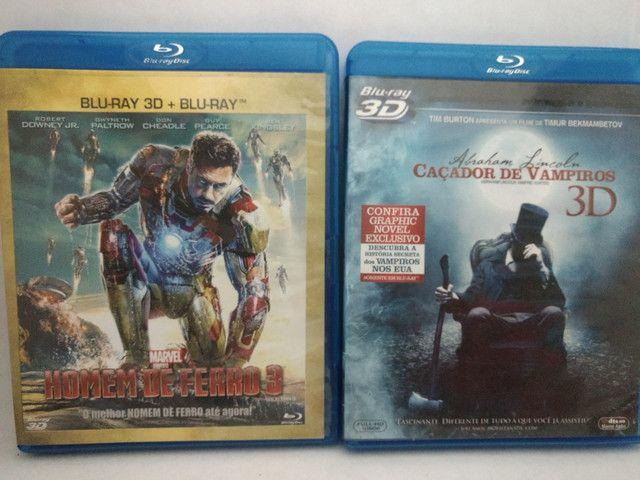 Blu-ray 3D + 2D (Dois discos) - Foto 4