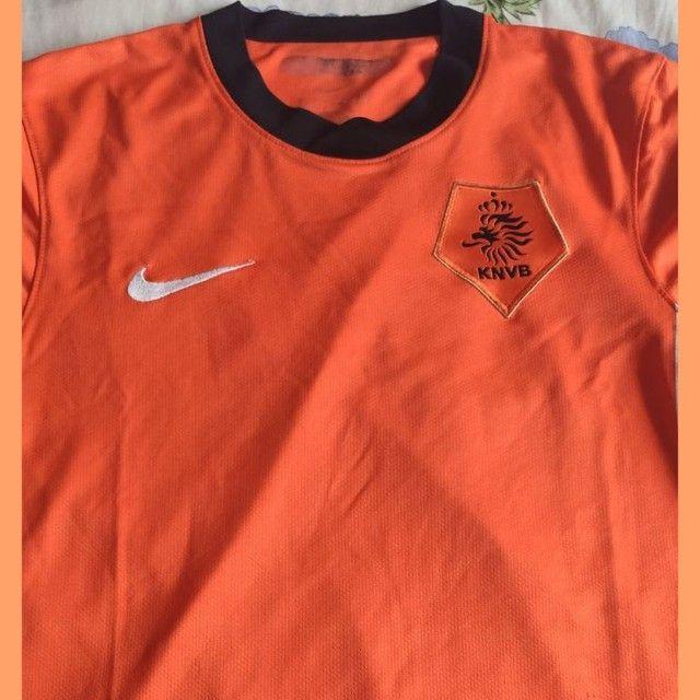 Camisa Holanda Nike - Foto 2