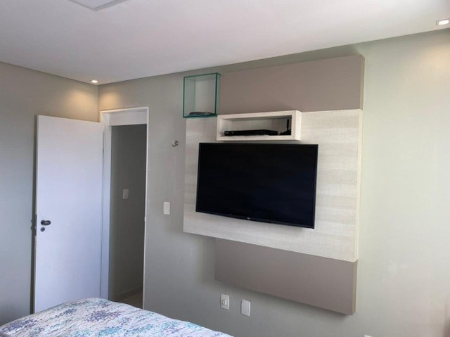 No Expedicionários, apartamento projetado e com ambientes climatizados! - Foto 7