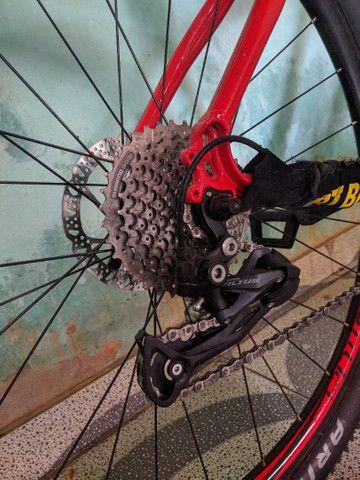 Bicicleta 29 Audax adx 100( Estado de nova) - Foto 4