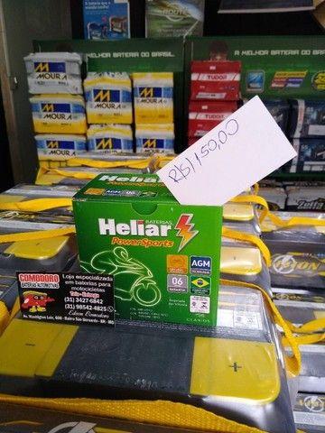 Imperdvell baterias a preço de fabrica 5,6,7AH fan,cg,xre,factor,fazer,biz,pcx,ybr,lead. - Foto 4