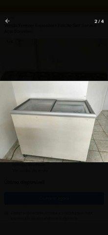 Vendo Freezer Expositor+ Balcão Self Service Açai Sorvetes - Foto 2