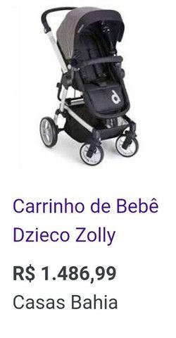 Carrinho de bebê Dzieco Zolly - Foto 6