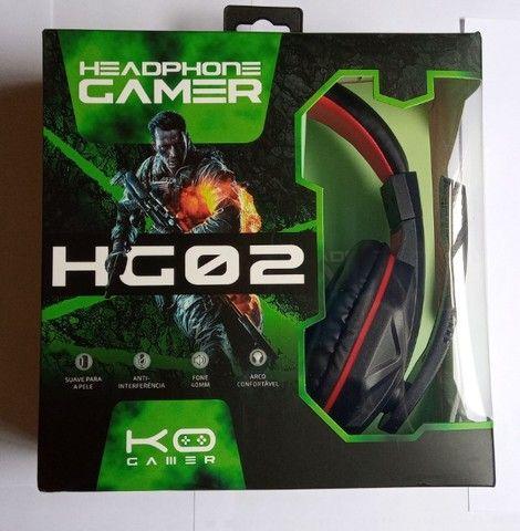 Headset Gamer KOHeadphone Gamer HG02 P2 PS4 Xbox One - Foto 5