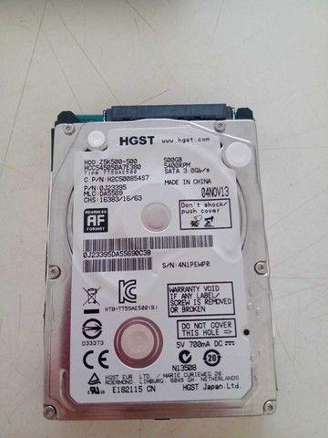 HD Para Notbook 320GB Seminovo marca HGST