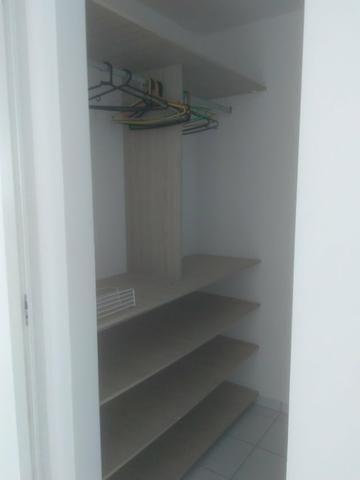Apartamento semi mobiliado 2 quartos Ponta Negra
