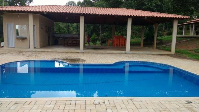 Chácara de 40.000M², em Palmas, Casa principal, casa de caseiro, salão de festa, piscina