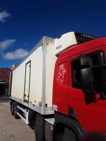 Bitruck Scania 310 com câmera fria