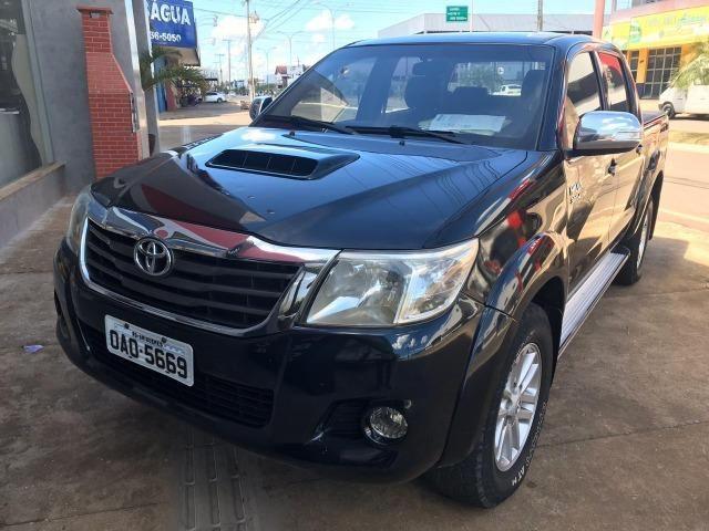 Toyota Hilux CD 4X4 SRV - Diesel - AUT. - 2012/2013