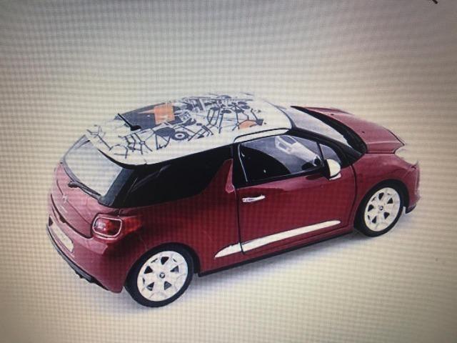 Miniatura de carro DS3 - Foto 2