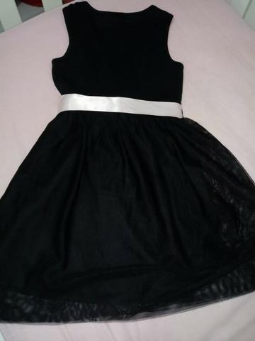 Vestido Infantil Preto - Foto 3