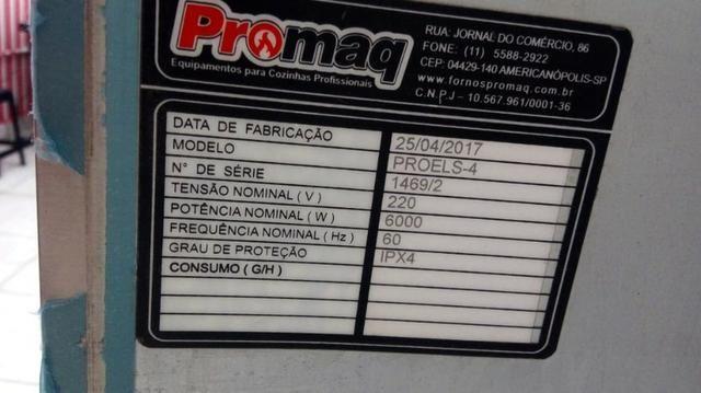 Forno Industrial Promaq 220 300° 90x90 Proels-4 - Foto 4