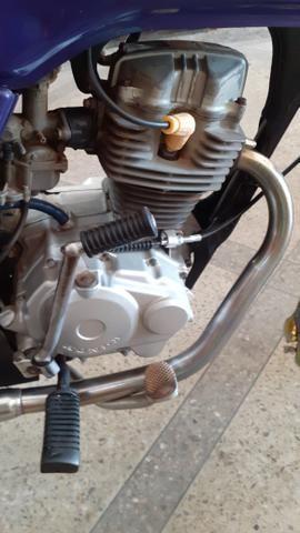 Cg 125 ano 98 emplacada relíquia kleyton motos zap * - Foto 3