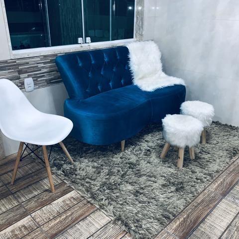 Sofá de Luxo Tok Stok de 2.499,90 Por 1.300,00 - Foto 2