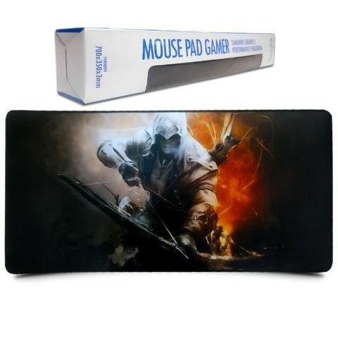 Mouse Pad Gamer Extra Grande 700x350x3mm Promoção Aproveite - Foto 2