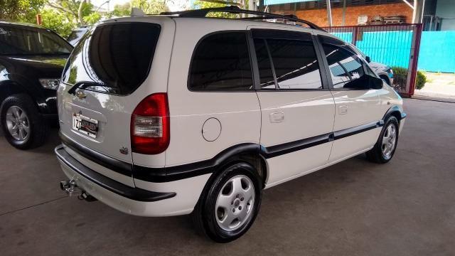 Chevrolet Zafira ZAFIRA 2.0 MPFI ELEGANCE 8V FLEX 4P MANUAL 4P - Foto 14