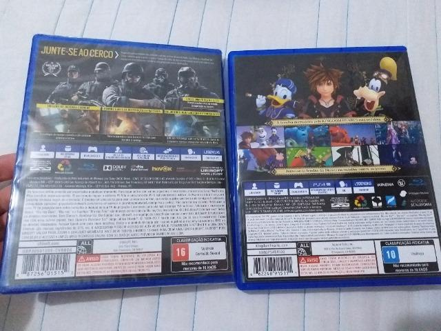 Kingdom Hearts + Rainbow Six Siege PS4