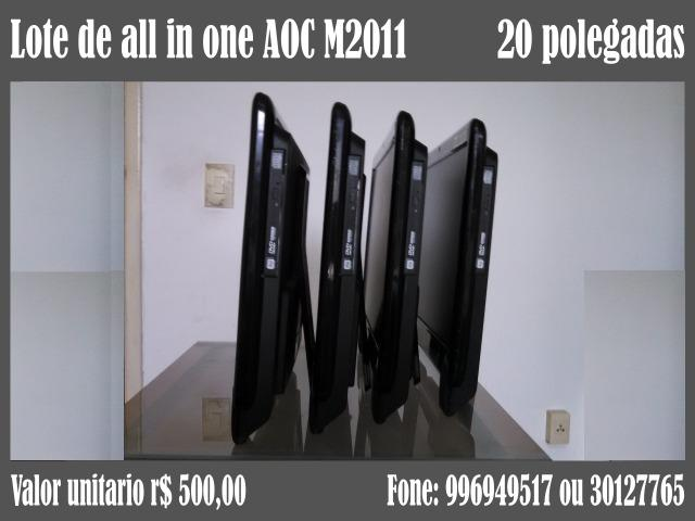 Lote de all in one AOC M2011 - Foto 3