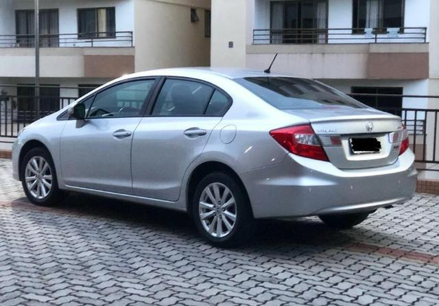 Única dona - Civic 2.0 LXR automático 2014