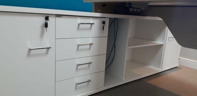 Mesa e Armário para Escritório - Foto 3