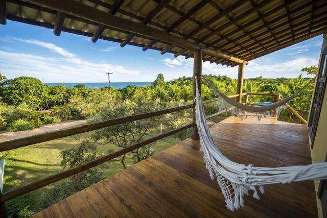 Casa na paradisiaca Praia do Espelho-Trancoso, 3 suites+1 quarto