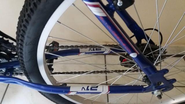 Vendo bicicleta Azul - Foto 2