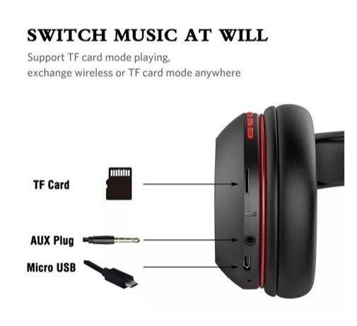 Fone de ouvido sem fio Bluetooth - Aceito Cartão - Foto 3
