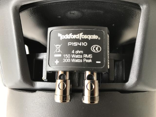 Subwoofer Carro Rockford Punch P1S410 (150 WRMS) - Foto 5