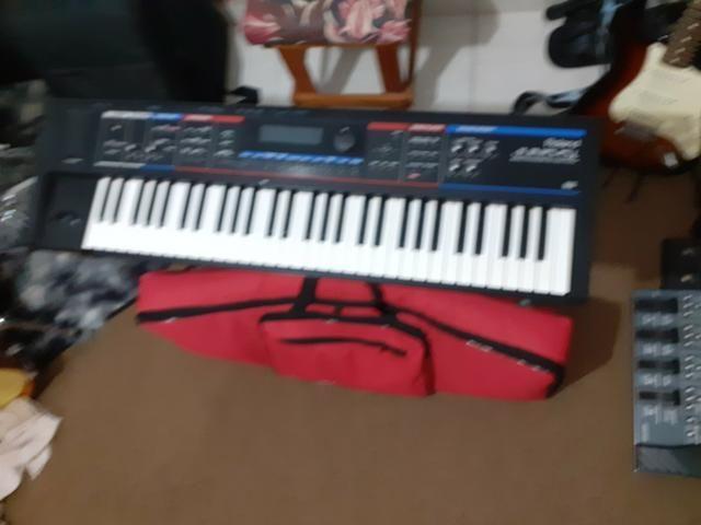 Teclado Sintetizador Roland Juno DI (menor preço) - Foto 2