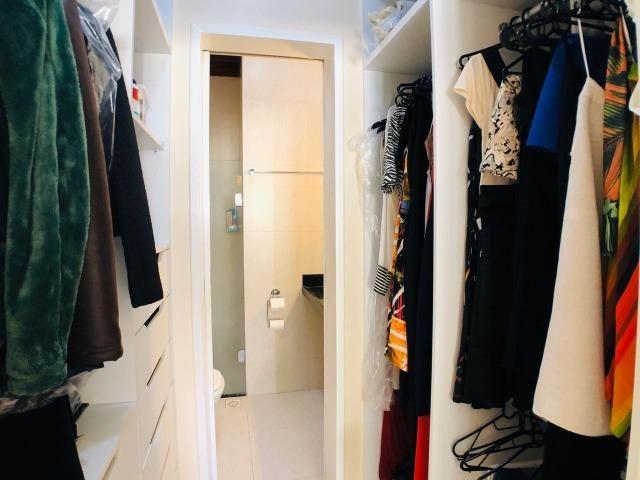 CA0923 - Casa plana com 3 suítes, dependência e lazer completo em condomínio fechado - Foto 12