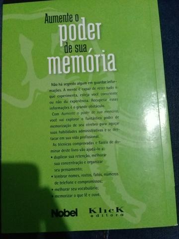 Livro de psicologia e psiquiatria/ Aumente o poder de sua memória - Foto 2