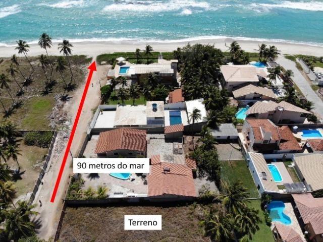 Lote 15x35 (525 m²) na Barra de São Miguel + Projeto Arquitetônico - Foto 2