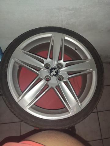 Vendo rodas aro 18 completas pneus estado de zero zap * - Foto 2