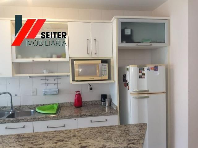 Apartamento mobiliado de 2 dormitorios suite e sacada com churrasqueira no itacorubi - Foto 10