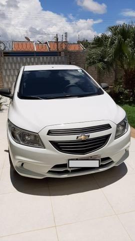 Prisma Joy 1.0 seminovo Branco Impecável carro de mulher