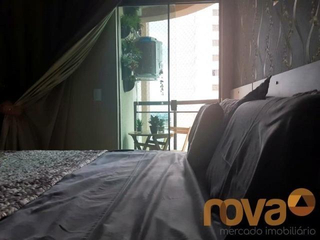 Apartamento à venda com 3 dormitórios em Setor bueno, Goiânia cod:NOV235797 - Foto 9