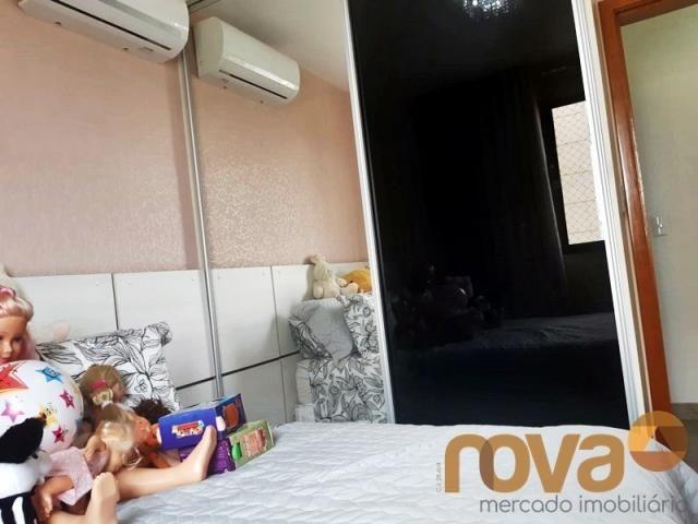 Apartamento à venda com 3 dormitórios em Setor bueno, Goiânia cod:NOV235797 - Foto 14