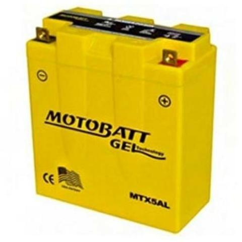 Bateria em gel titan ybr 5,5