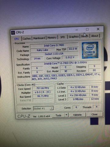 Pc Gamer Core I5 7400 Gtx 1060 6gb 8gb RAM - Foto 6