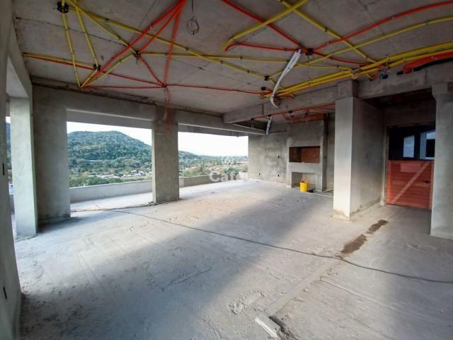 Residencial Fiorello amplo apartamento com 3 suíte, 3 garagens, alto padrão em Santa Maria - Foto 3