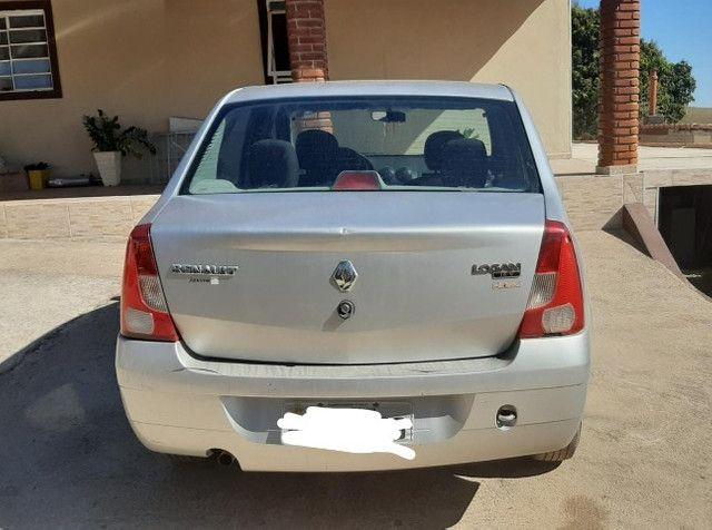 Carro logan 2010 , com chave reserva e manual - Foto 5