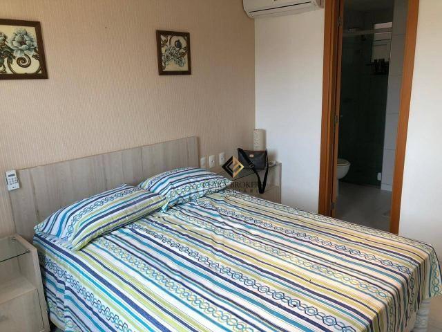 Apartamento com 76m² projetado e mobiliado no Porto das Dunas com 3 quartos sendo 2 suítes - Foto 4