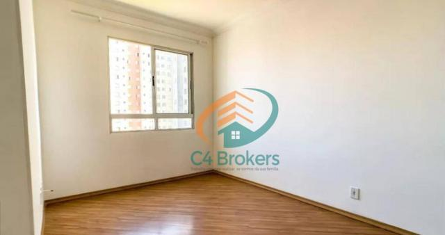 Apartamento com 2 dormitórios para alugar, 45 m² por R$ 1.547,00/mês - Ponte Grande - Guar - Foto 13