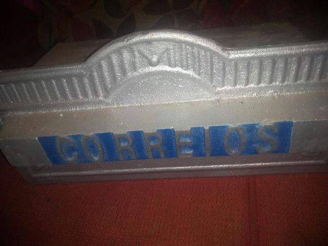 Caixa de correrio de alumínio  - Foto 4