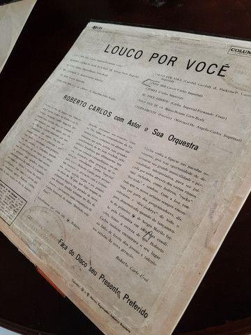 Lp - Roberto Carlos - Louco Por Você (original) (1961) - Foto 3